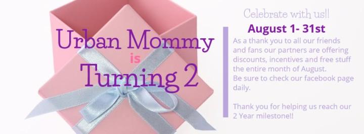 Urban Mommy Aniversary